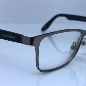 Carrera Men Eyeglasses Frame Metal/Plastic Black/G
